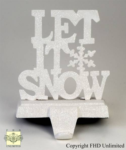 Stocking Holders - Let It Snow