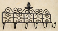 Wrought Iron Wall Hook - Coat Hook
